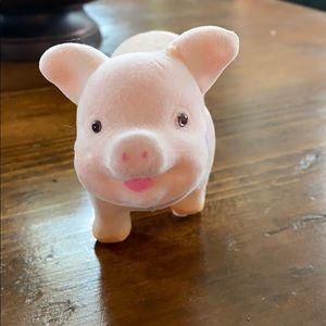 Vintage Pig Bobble Head